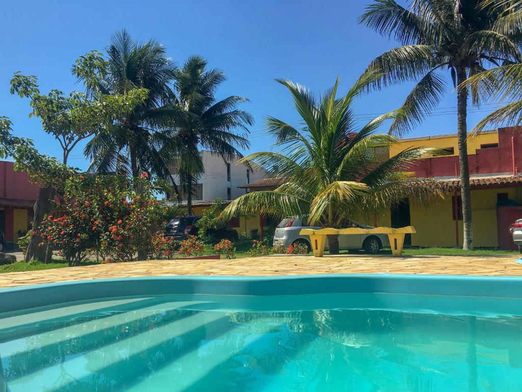 The swimming pool at or near Pousada dos Gravatais