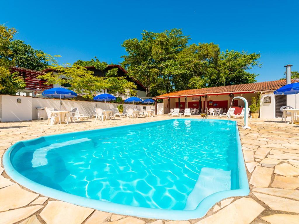 The swimming pool at or near Hotel Saveiros