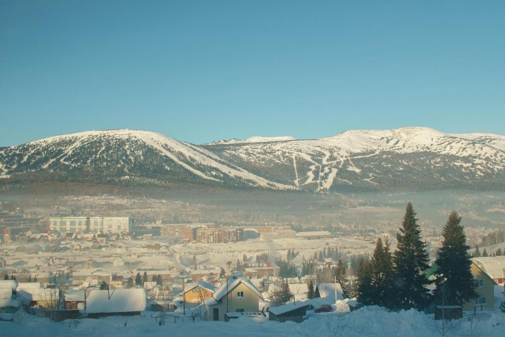 Панорама зимой