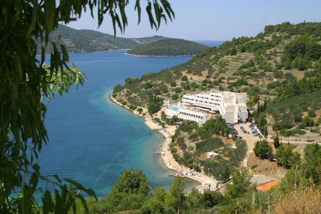 A bird's-eye view of Hotel Adria