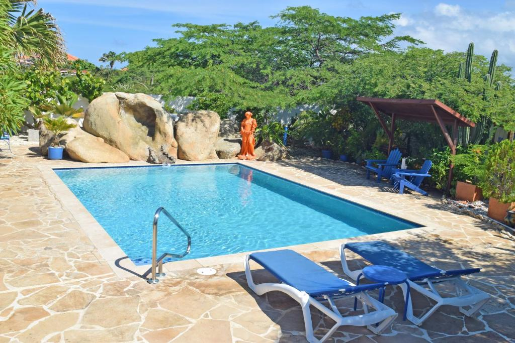 The swimming pool at or near Villa Bougainvillea Aruba