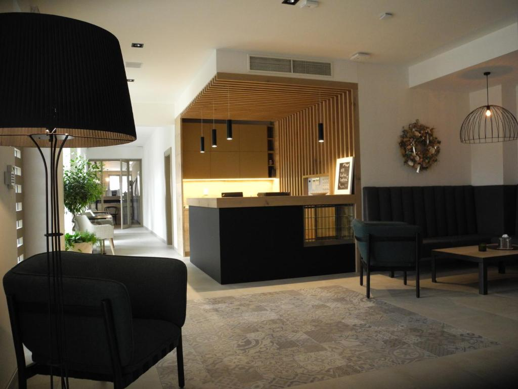Vstupní hala nebo recepce v ubytování penzion rustico s.r.o.