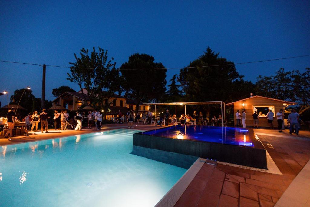 The swimming pool at or near Agriturismo Trerè