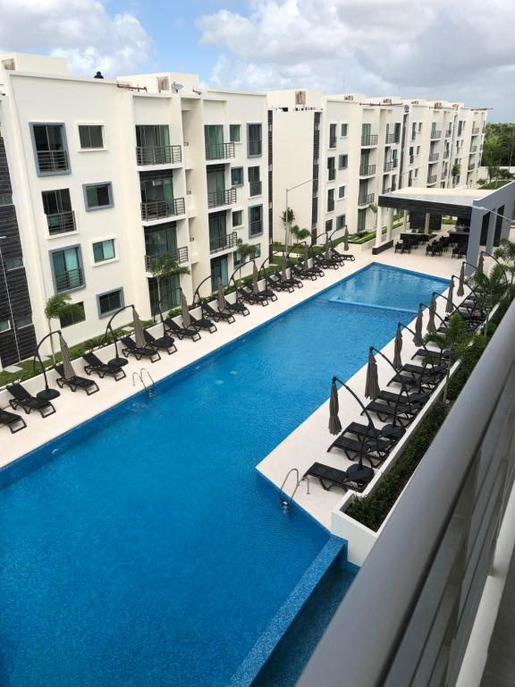 A view of the pool at Mayan Condos Cancún / 15 min Beach or nearby