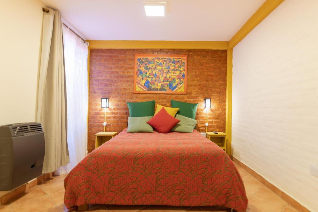 A bed or beds in a room at Samaná Departamentos