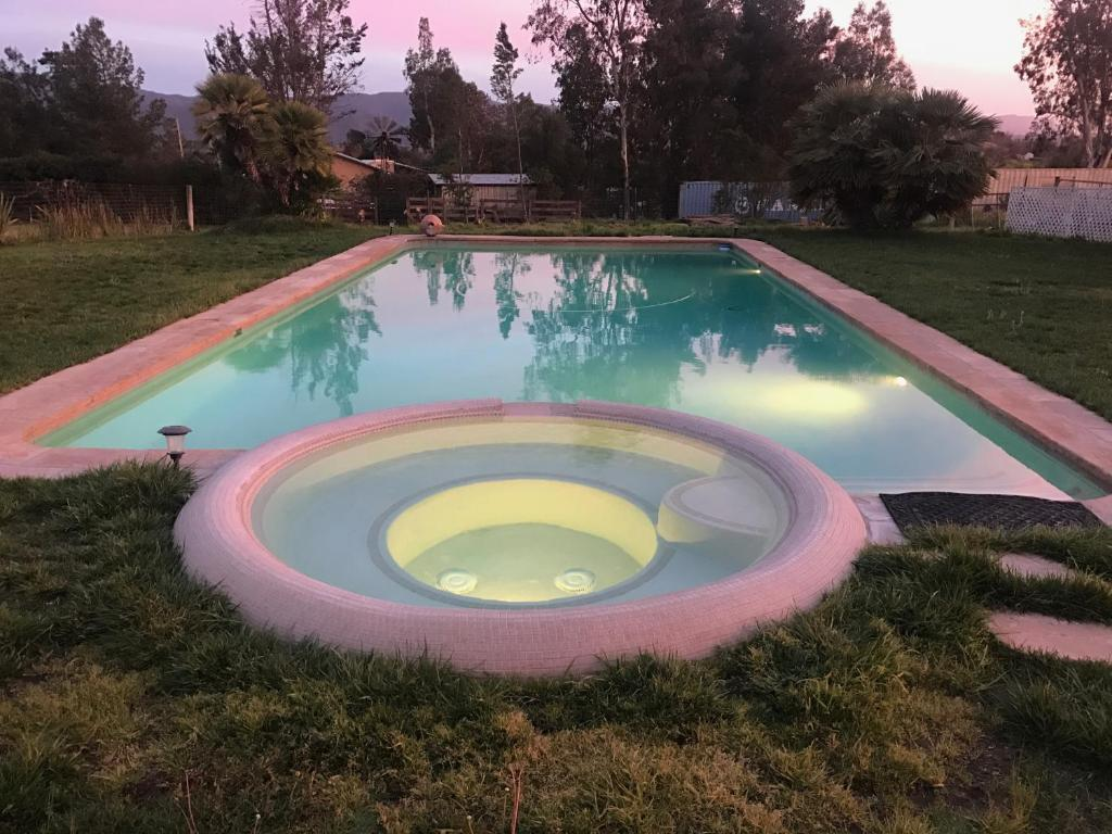 The swimming pool at or near Coopers Creek Santa Ynez