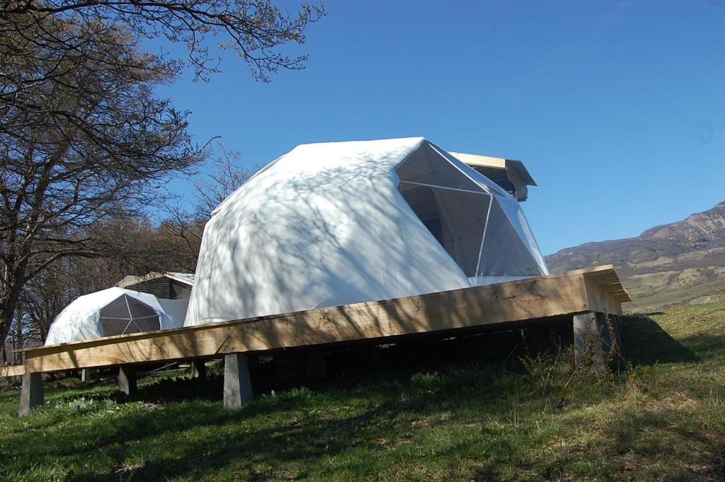 Edificio en el que se encuentra the luxury tent