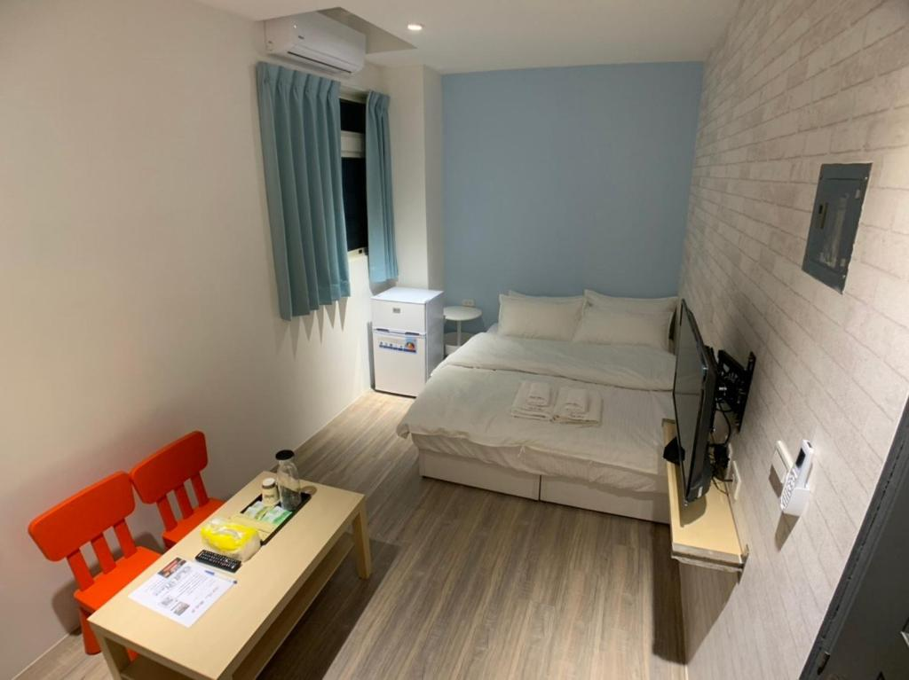 Chill Place 懶地方房間的床