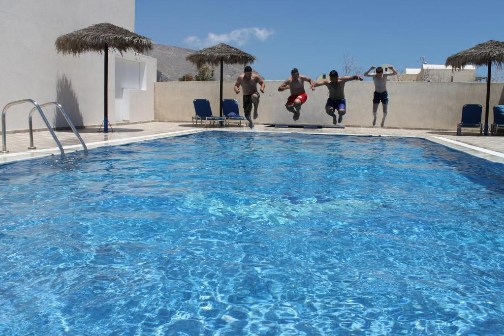 The swimming pool at or near Mary Rooms