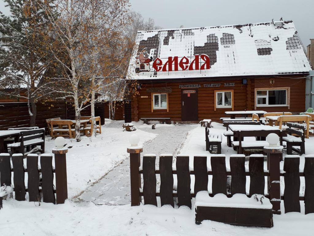 отель Емеля зимой