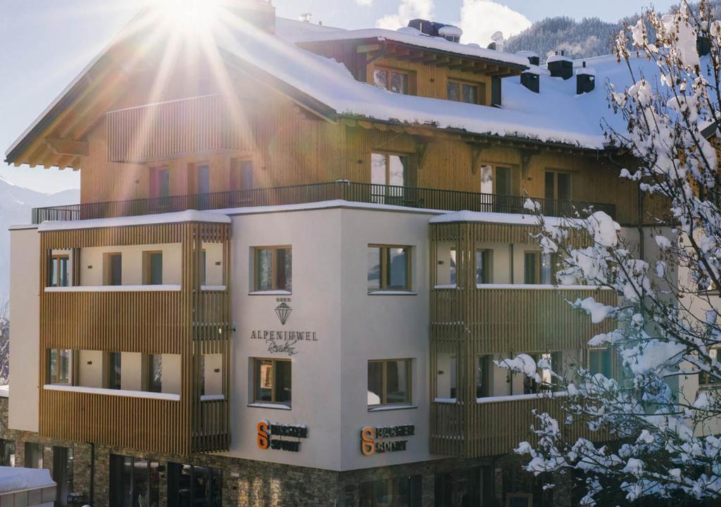 Hotel Garni Alpenjuwel Residenz Serfaus, Austria