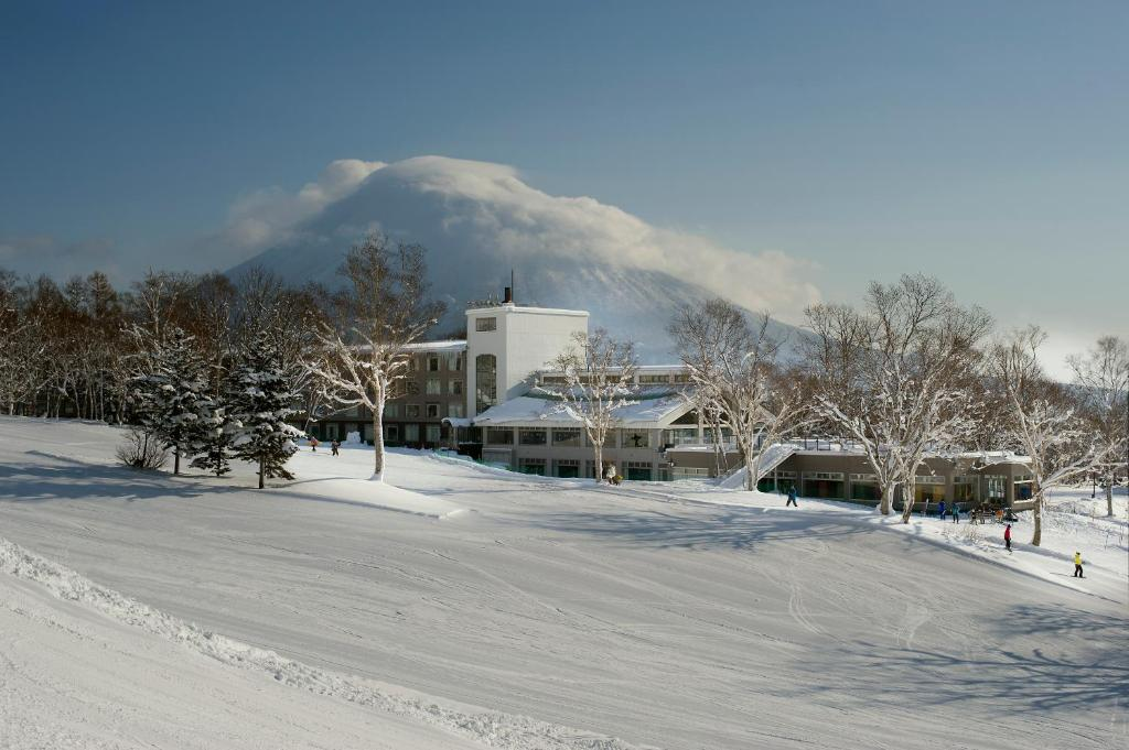 The Green Leaf, Niseko Village during the winter
