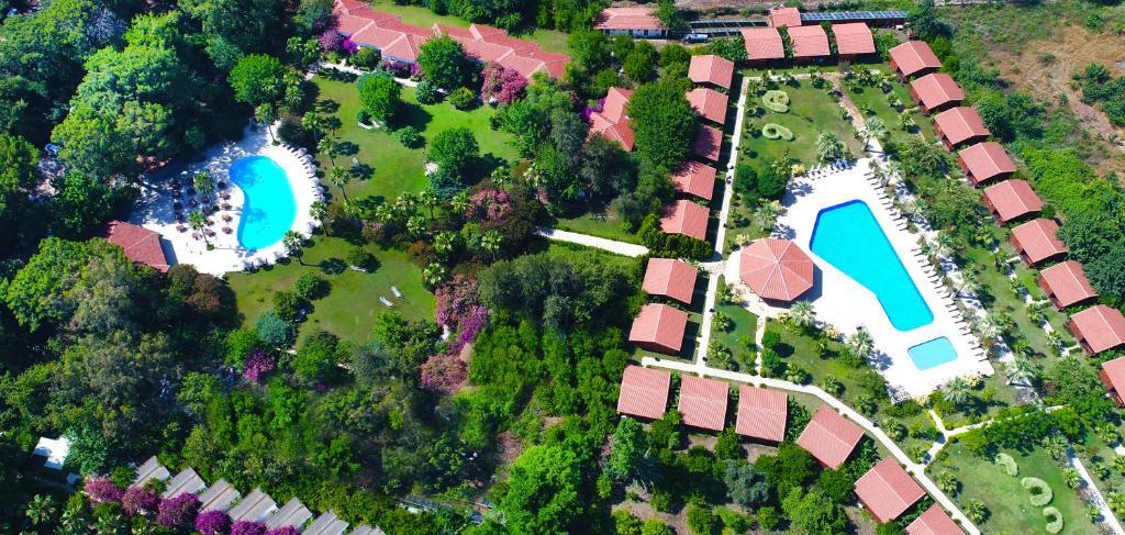 A bird's-eye view of Cirali Hotel Odile