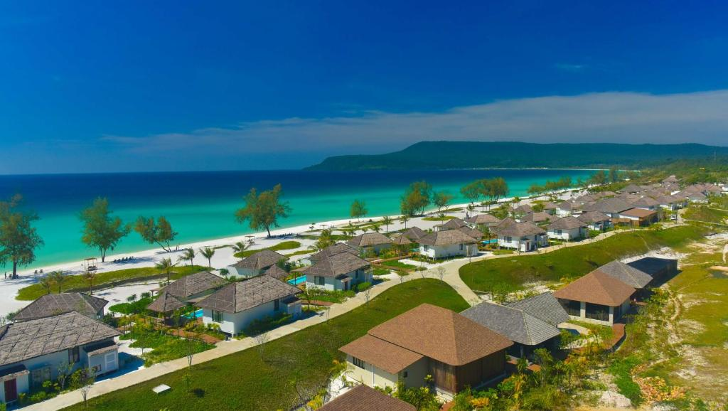 A bird's-eye view of The Royal Sands Koh Rong