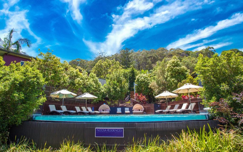 The swimming pool at or near Noosa Residences