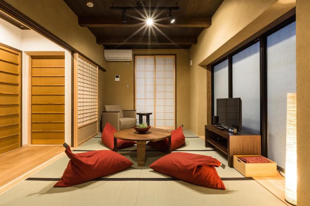 No.10 京都ハウスにあるシーティングエリア