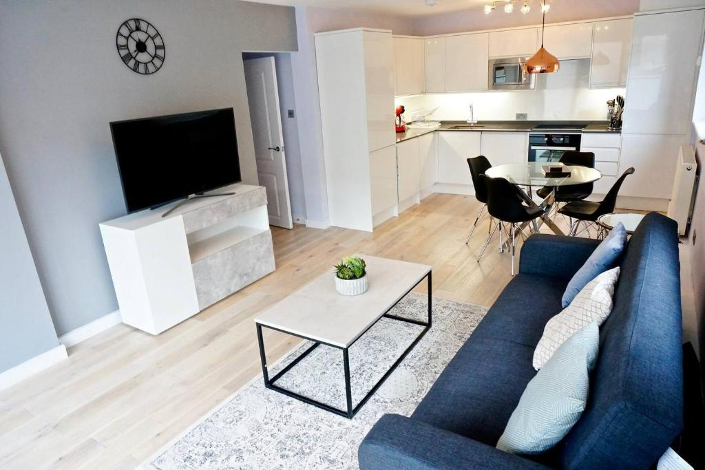 Apartment 2br 2bath Luxury Modern Flat In The City London Uk Booking Com