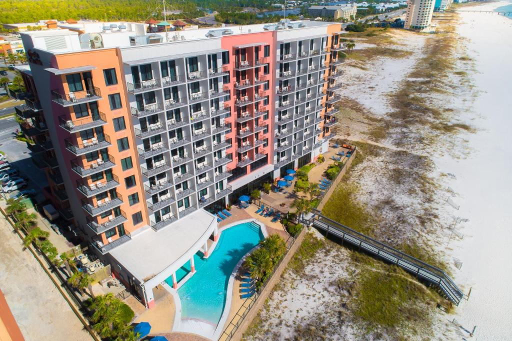 A bird's-eye view of Hampton Inn & Suites - Orange Beach