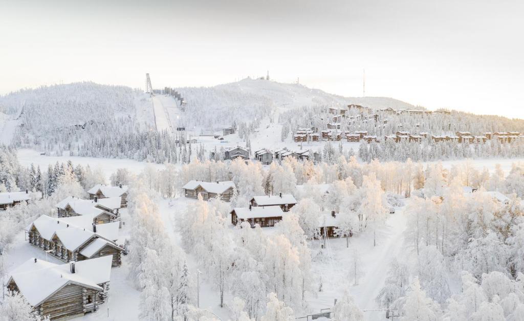 Rukan Talvihovit under vintern