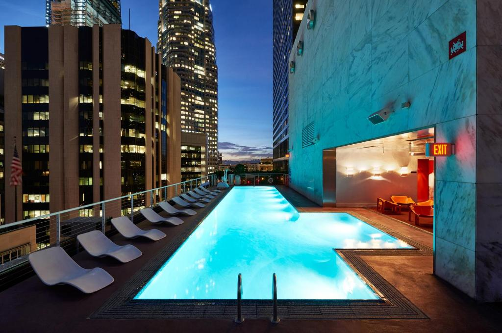 The swimming pool at or near The Standard, Downtown LA
