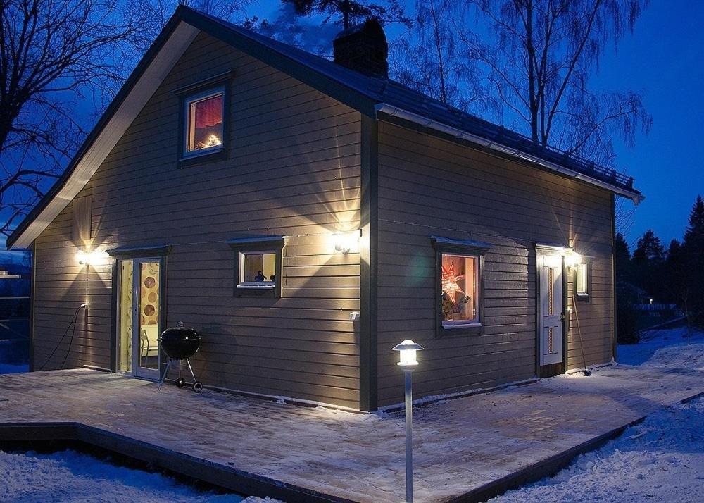 Lillens Pålgård 7 personen during the winter