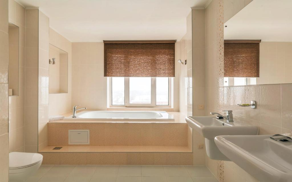 Ванная комната в Гостиница Звездная