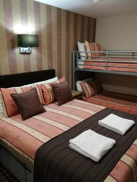 The Trafford Hotel in Blackpool, Lancashire, England