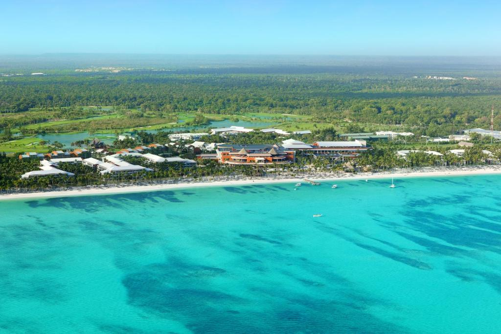 A bird's-eye view of Barceló Bávaro Palace All Inclusive