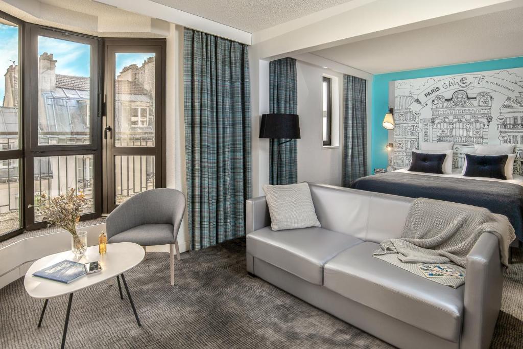 Гостиная зона в Mercure Paris Gare Montparnasse