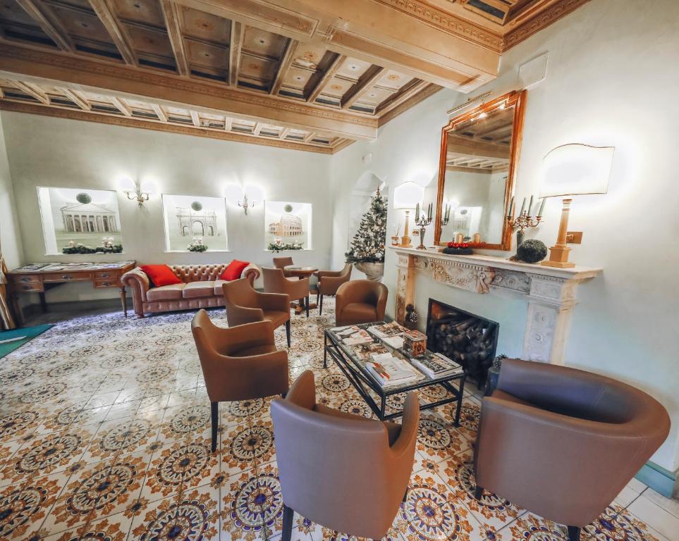 Area soggiorno di Hotel Villa Grazioli