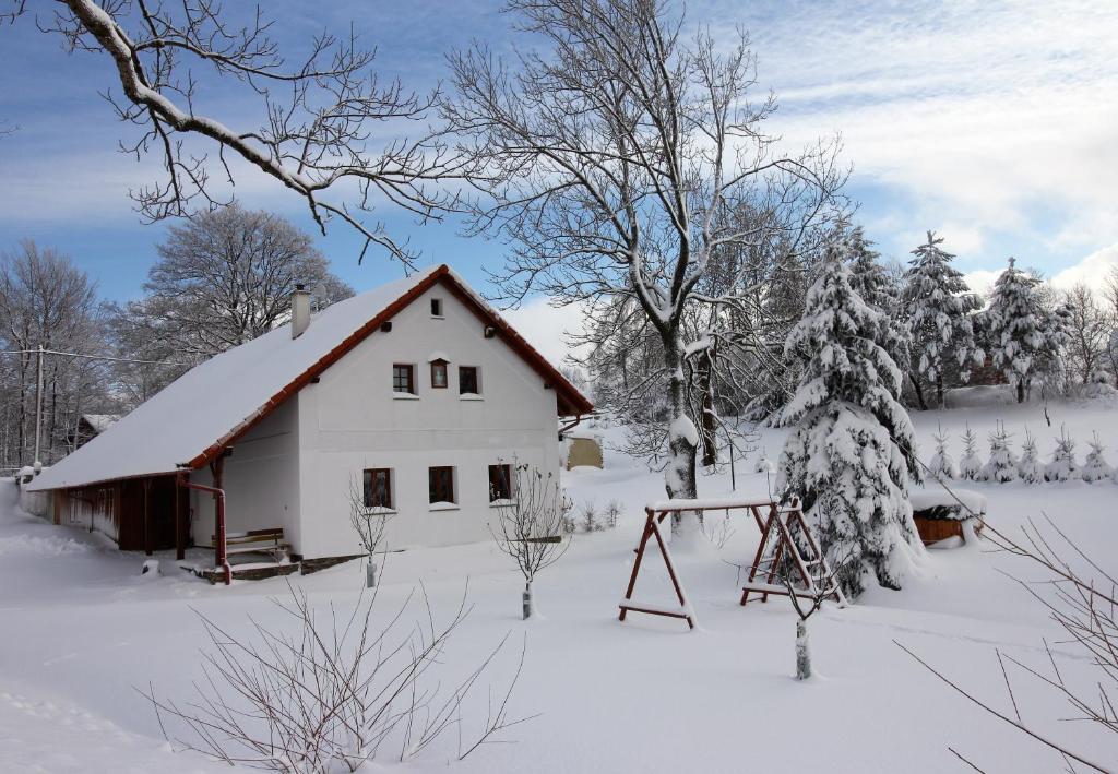 Apartmány u Knajflů v zimě