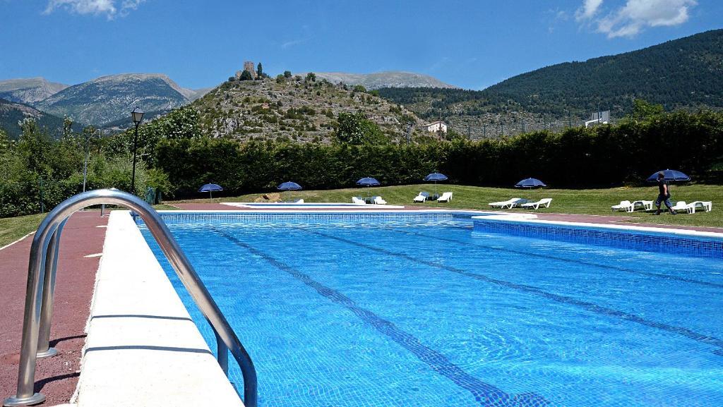 Het zwembad bij of vlak bij Camping Cadí Vacances & Spa