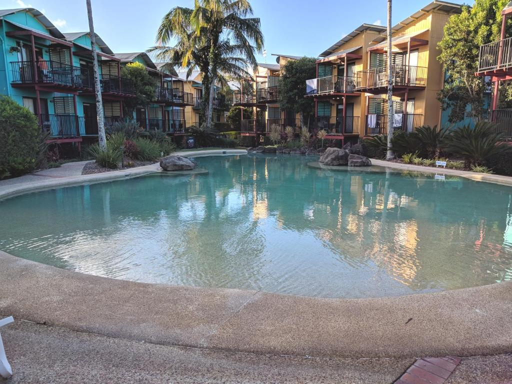 The swimming pool at or near Noosa Holiday Accommodation