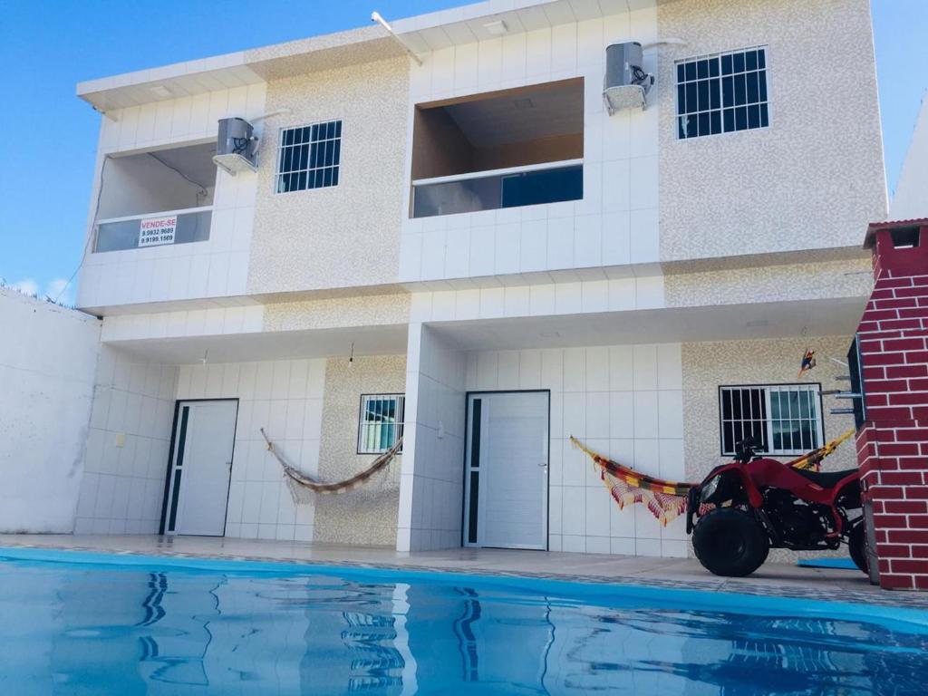 The swimming pool at or near Praia dourada