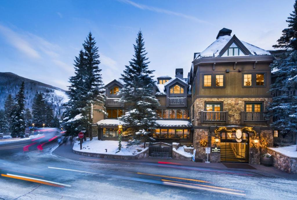Gravity Haus Vail during the winter