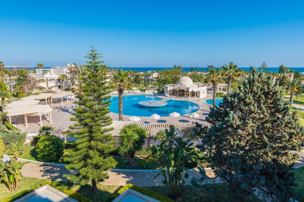 A bird's-eye view of Le Royal Hammamet