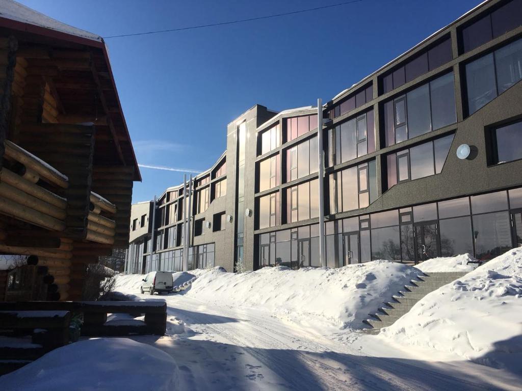 Baikal Loft Studio during the winter