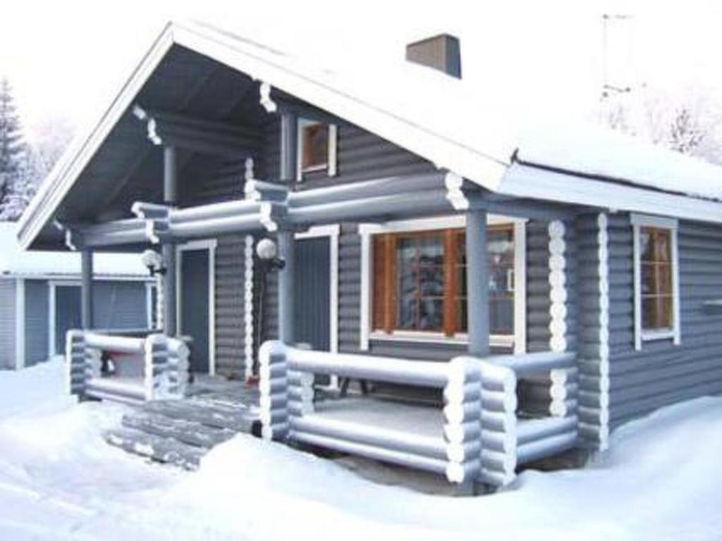 Holiday Home Kuontila during the winter