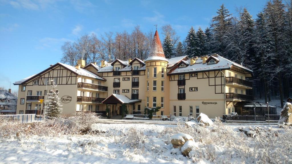Nowa - Ski SPA Hotel during the winter