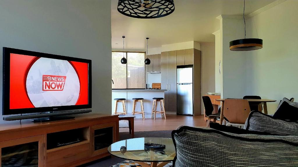A television and/or entertainment center at Number 9 Leisure Stay