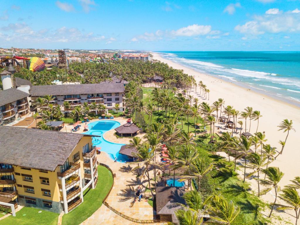Uma vista aérea de Beach Park Resort - Suites