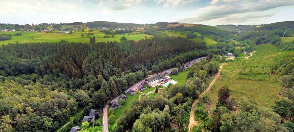 A bird's-eye view of Hotel Le Val D'arimont