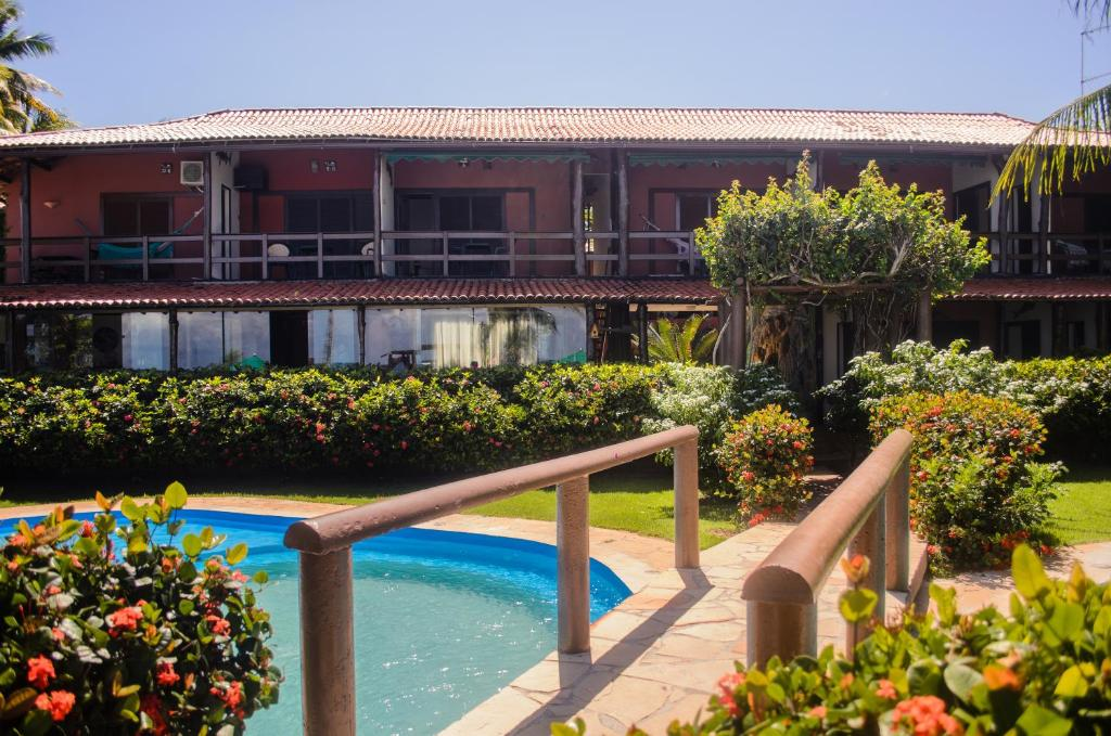 The swimming pool at or near Hotel Porto do Zimbo