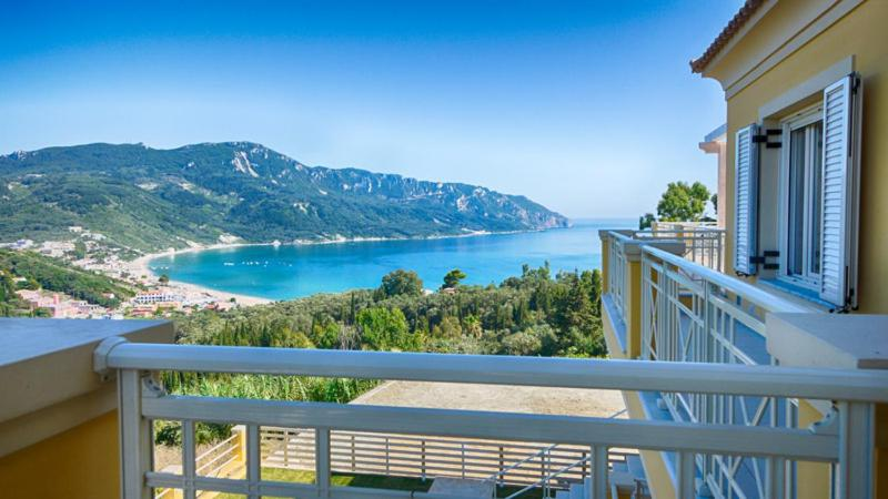 A balcony or terrace at Villa Sofia Amazing Views
