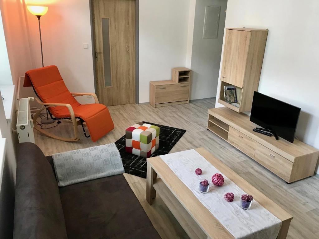 Posezení v ubytování Apartmány Dagmar