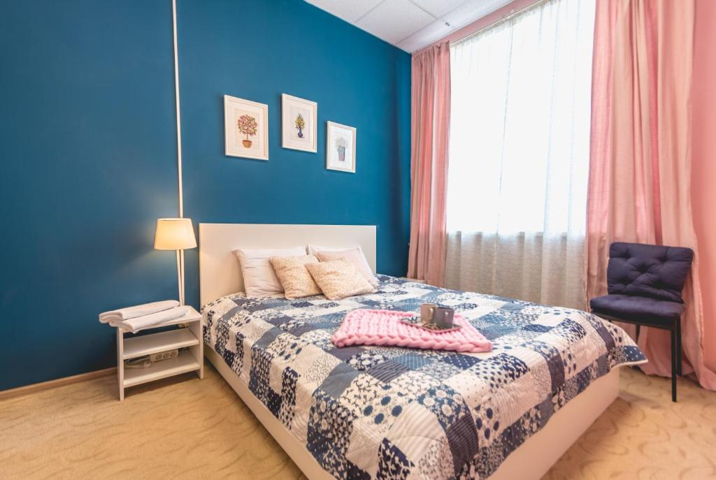 A bed or beds in a room at Story Hostel