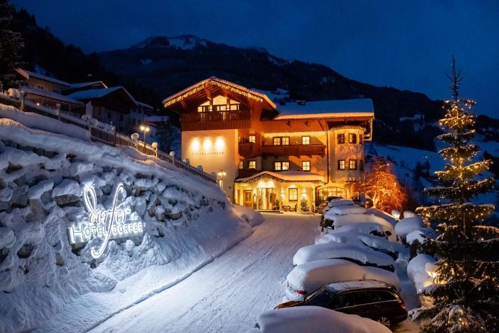 Hotel Dorfer im Winter