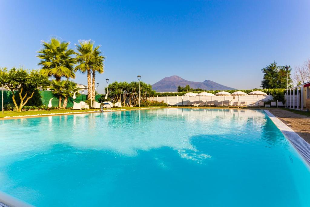 Piscine de l'établissement Resort Bosco De Medici ou située à proximité