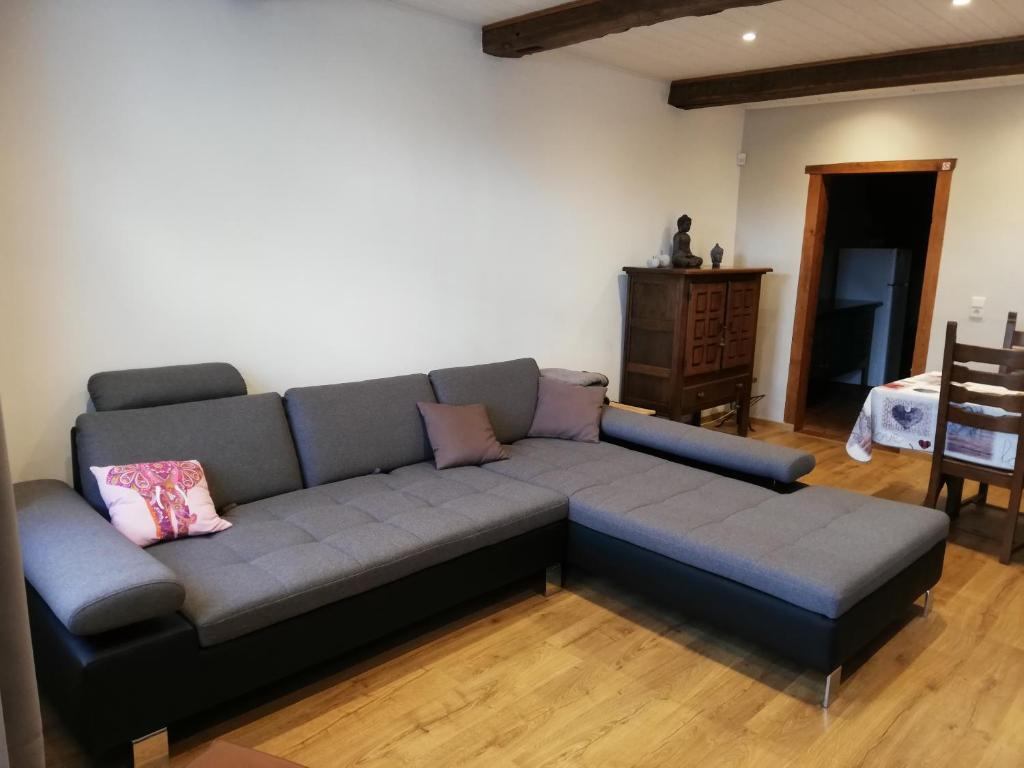 A seating area at Casa Andres