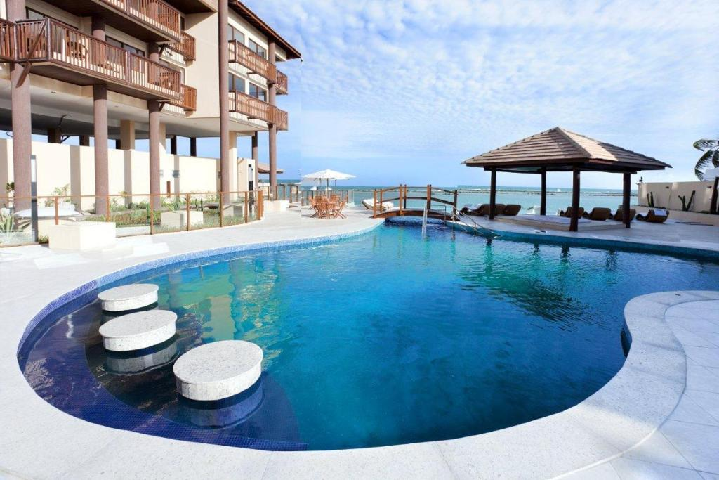 The swimming pool at or close to Barra Bali Resort